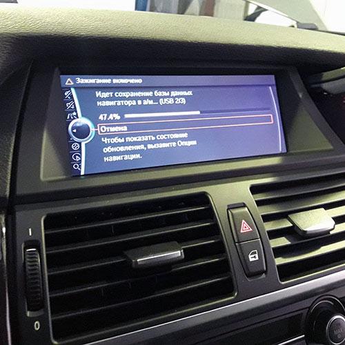 Обновление карт навигации BMW CIC